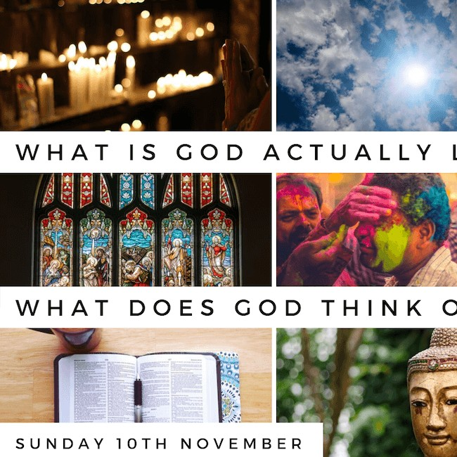 Guest Sunday – Who is God Actually Like?